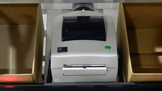 Pick-to-light printer