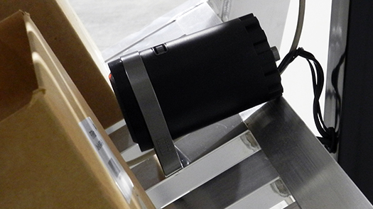 voice directed picking system speaker on pick cart
